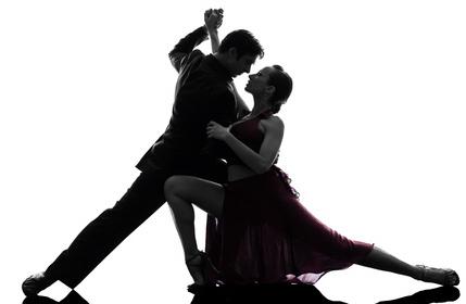 Ballroom Dancing Silhouette Png Couple man woman ballroom